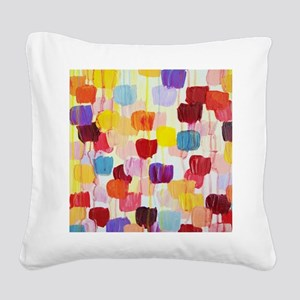 Dotty Square Canvas Pillow
